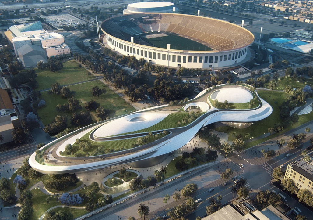 Proposed museum for LA's Exposition Park