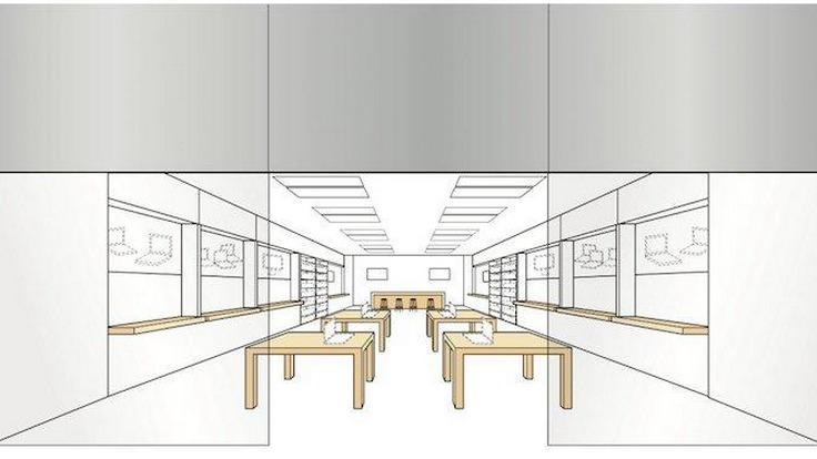 Apple's trademark layout