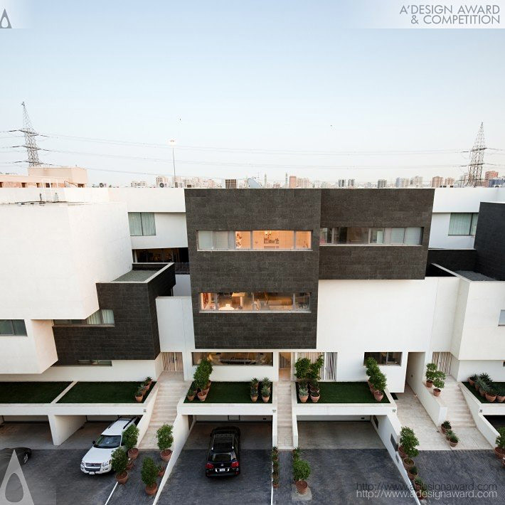 Black and White House Residential House by Agi Architects