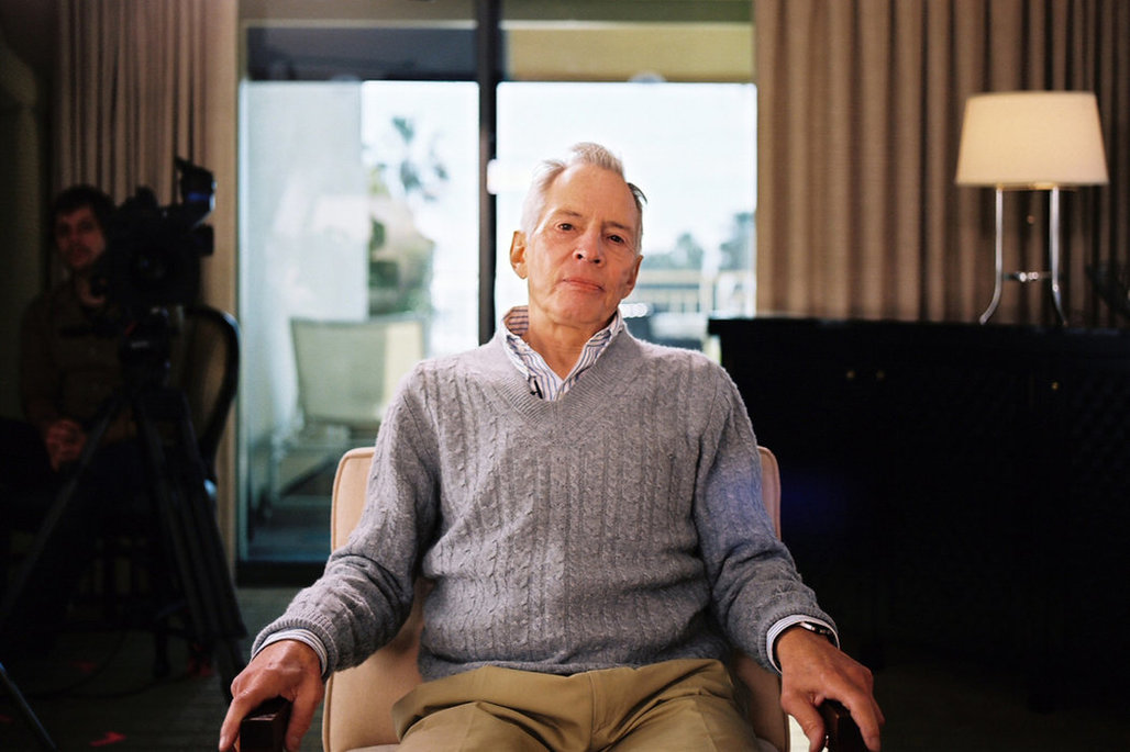 """""""I killed them all, of course,"""" Robert Durst was captured saying by the documentarians making 'the Jinx.' Image credit: HBO"""