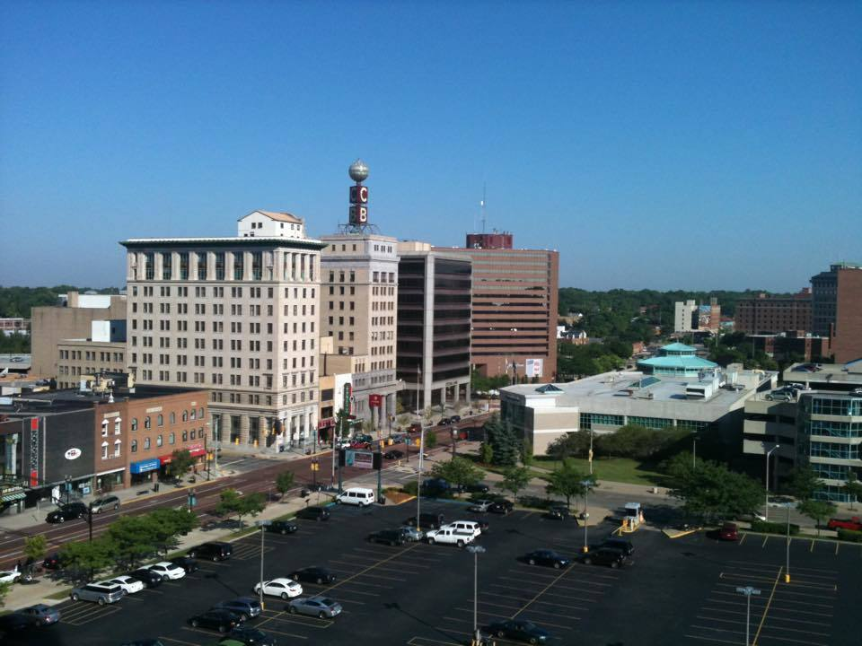 Downtown Flint. Image via wikipedia.com