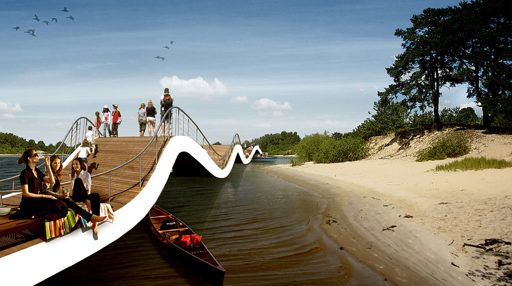 Finalist entry for Kiev Islands Master Plan Competition by BudCud (Image: BudCud)