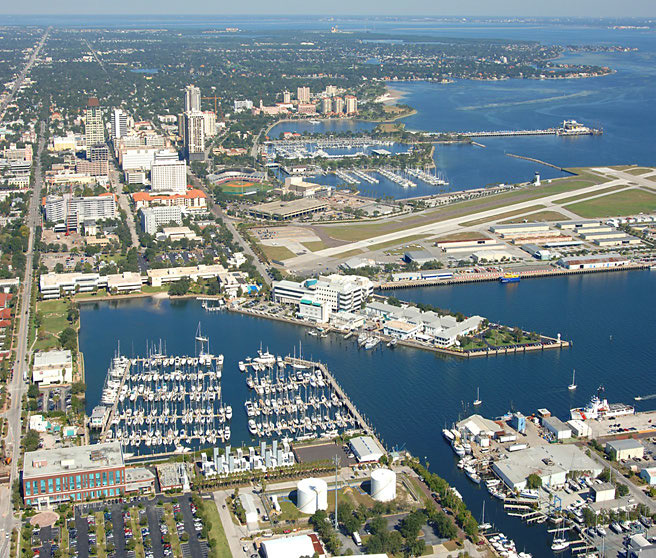 City of St. Petersburg, Florida. Image via St. Petersburg Pier RFQ.