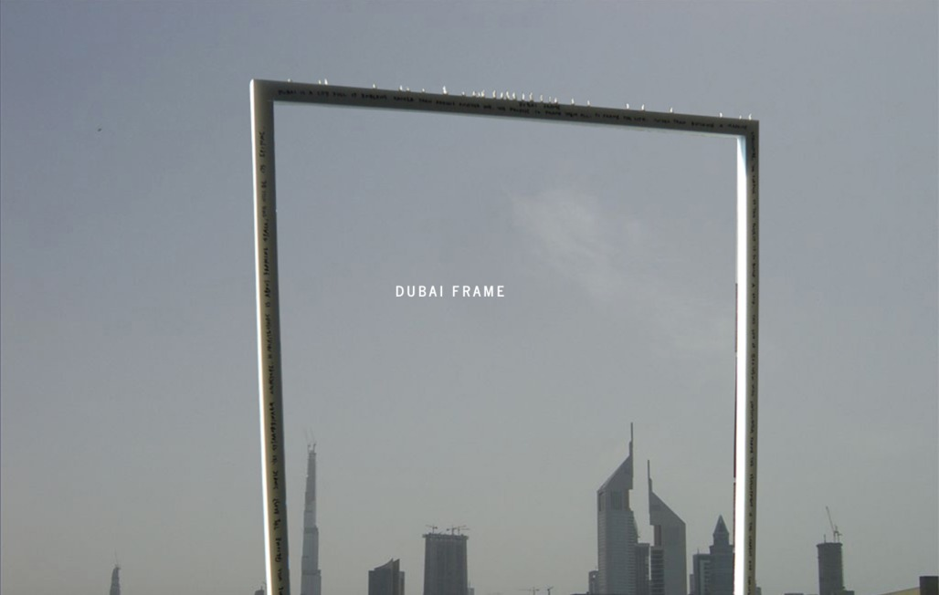 Fernando Donis' original concept for the Dubai Frame project (image via donis.org)