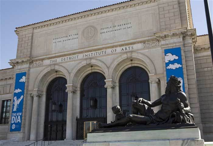 """The Michigan State Legislature agreed to contribute $350m to the """"Grand Bargain"""" plan to secure the DIA's collection. Image via theartnewspaper.com"""