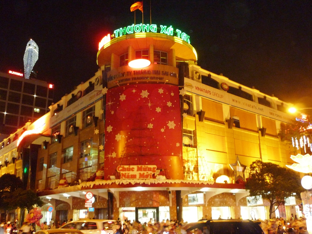 Now available in 2D only: Ho Chi Minh's Tax Trade Center. Image: Wikipedia