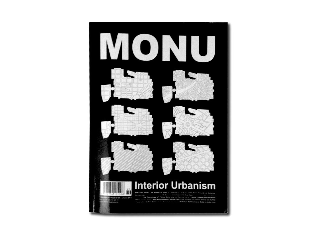 Cover of MONU #21, photo by Claudia Mainardi