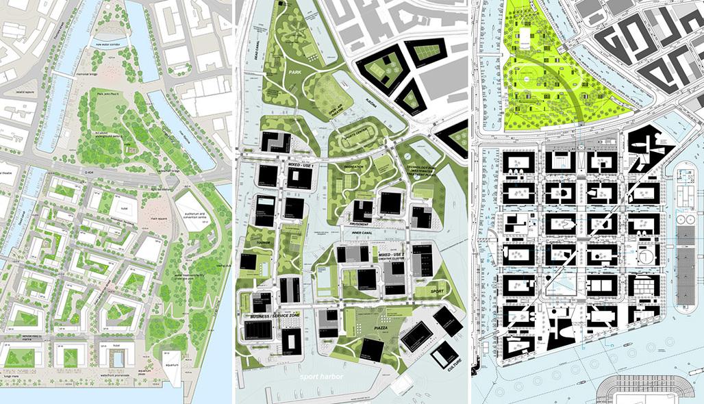 Winning urban-concept designs to develop the Delta and Porto Baros area in Rijeka, Croatia.