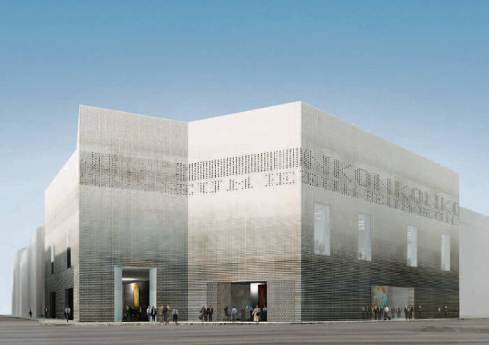 The shapes of things to come: rendering of the extension to Basel's Kunstmuseum. Photo: © 2014 Kunstmuseum Basel/Christ & Gantenbein Architects