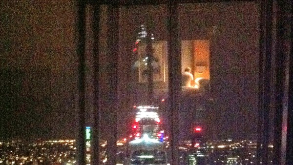 Some hotel rooms come with views of other guests reflected in the glass (The Financial Times)