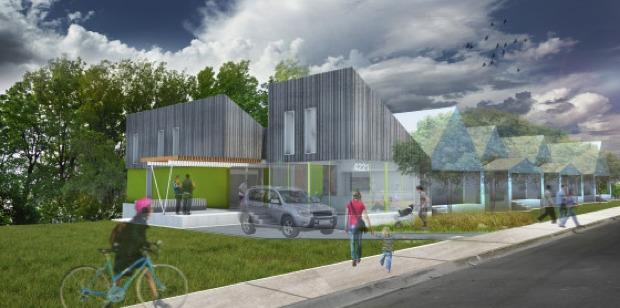 Make It Right Manheim Park housing design by El Dorado Inc. Image via makeitright.org.