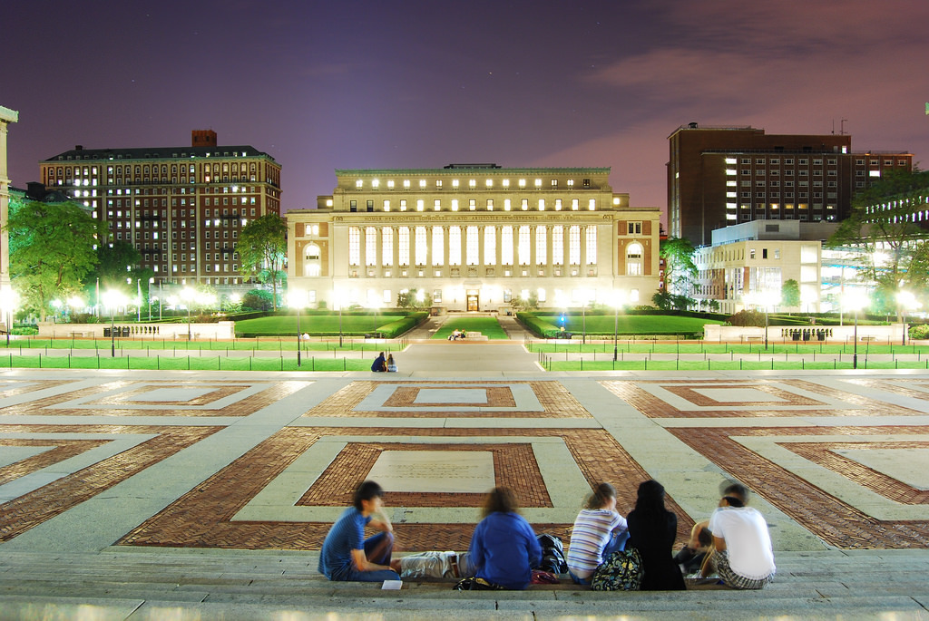 Students at Columbia University. Image: Beraldo Leal via Flickr