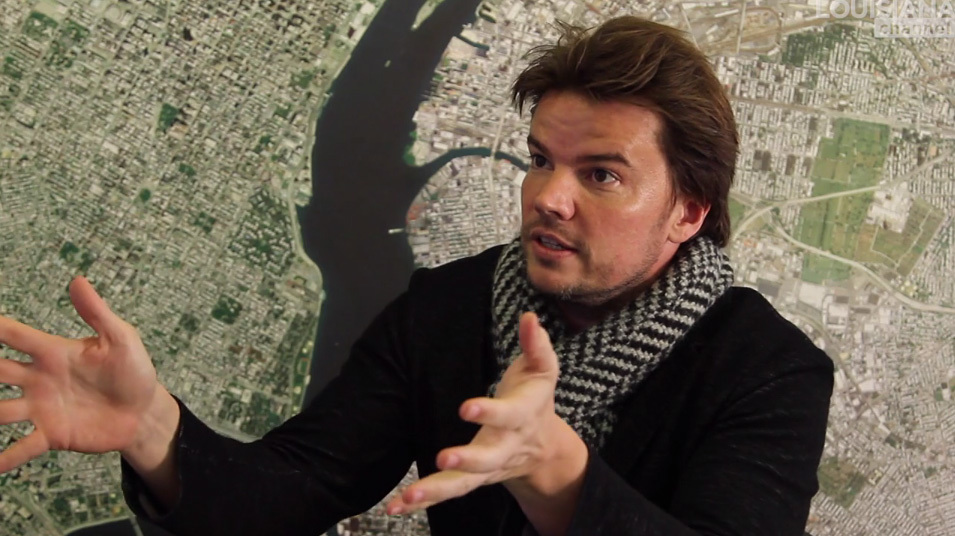 "Still from Louisiana Channel's ""Bjarke Ingels: Advice to the Young"""