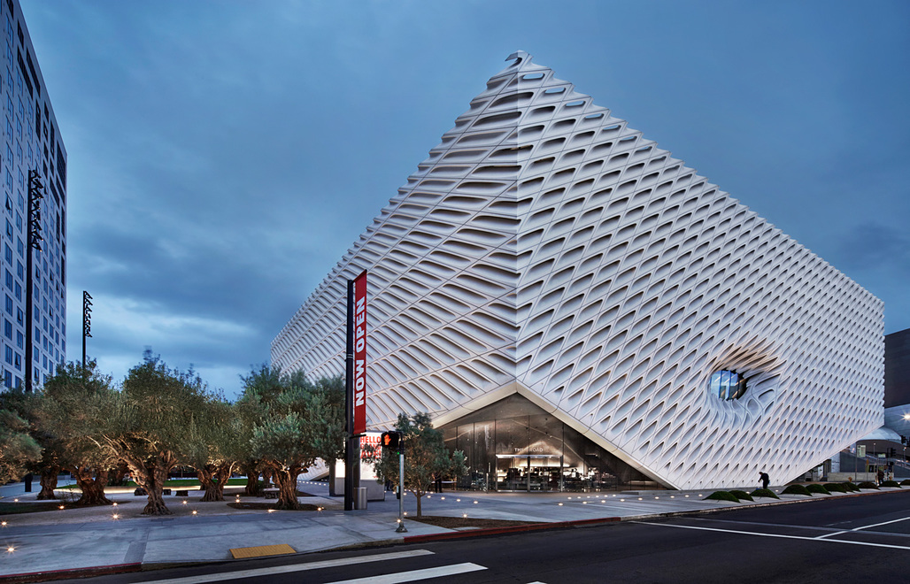 The Broad. Architect: Diller Scofidio + Renfro in collaboration with Gensler. Photo: Tillotson Muggenborg