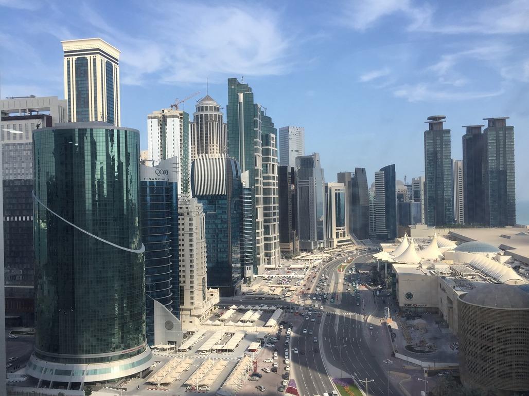 Doha, the capital of Qatar. Via Pixabay