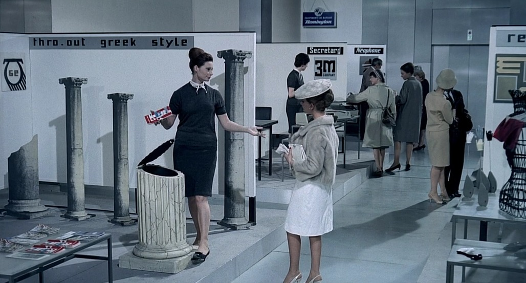 "Has architecture become just a lifestyle choice? Image: still from ""Playtime"" by Jacques Tati"
