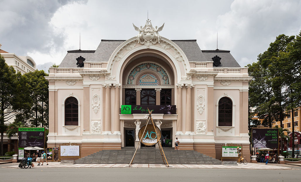 "The Municipal Theatre of Ho Chi Minh City, also known as Saigon Opera House, enjoys a special heritage protection status, but countless other historic structures in the rapidly growing city weren't so lucky. Photo: Diego Delso, <a href=""http://delso.photo/"">delso.photo</a>, License <a href=""http://creativecommons.org/licenses/by-sa/4.0/legalcode"">CC-BY-SA</a>."