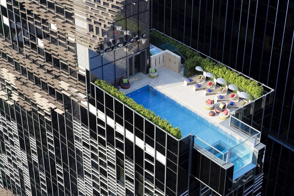 Hotel Indigo Hong Kong Island in Hong Kong by Aedas
