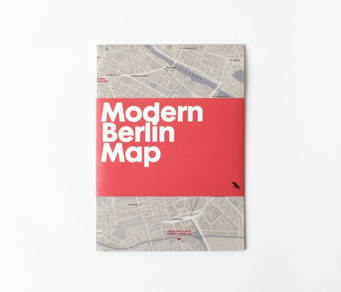 The Modern Berlin Map by Blue Crow Media. Photo © Blue Crow Media.