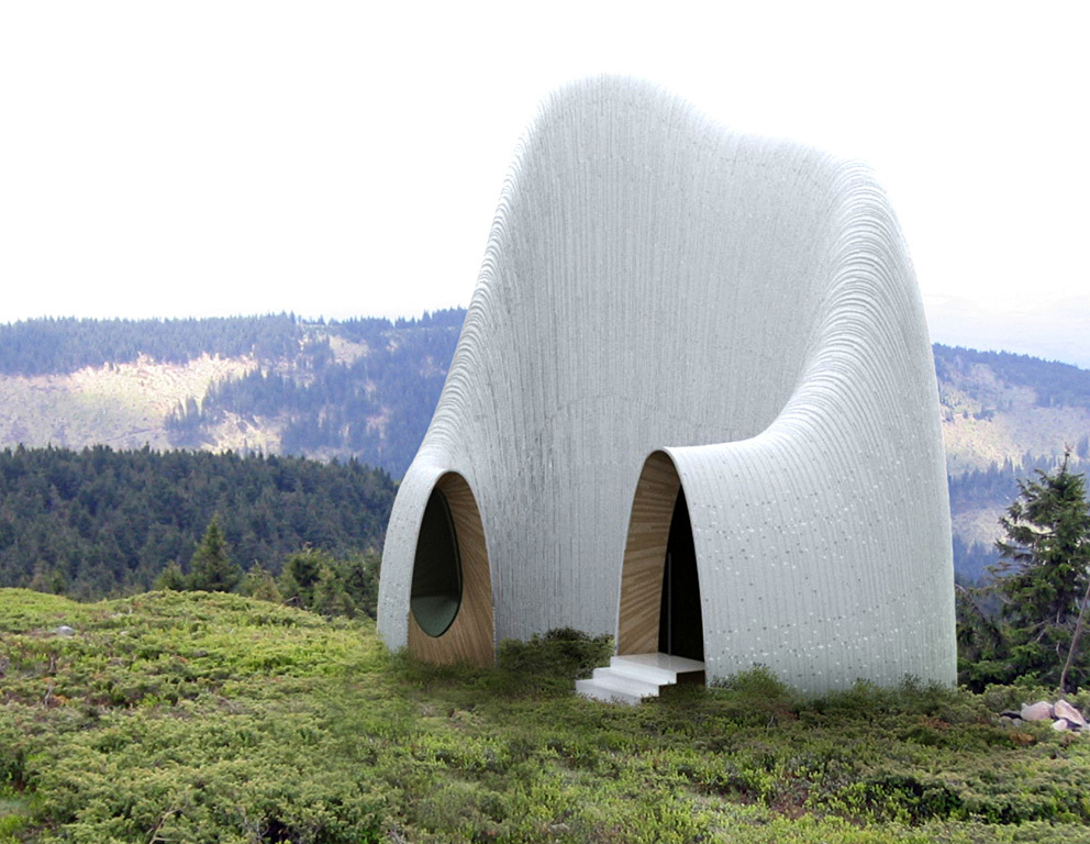 Projects Honor Awards Winner: Kápolna Madaras in Madaras, Harghita, Romania by Christopher Johnson Architect with Ramona Albert (Image Credit: C.Johnson/R.Albert)