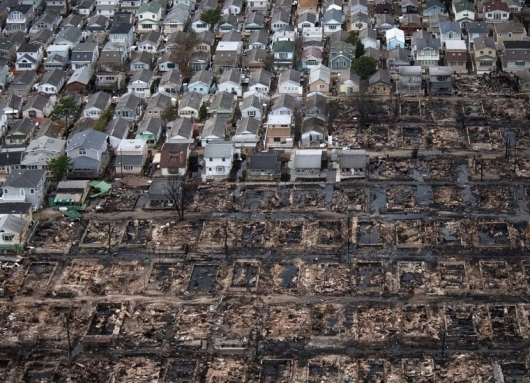 The aftermath of Hurricane Sandy (Image via Rebuild by Design)