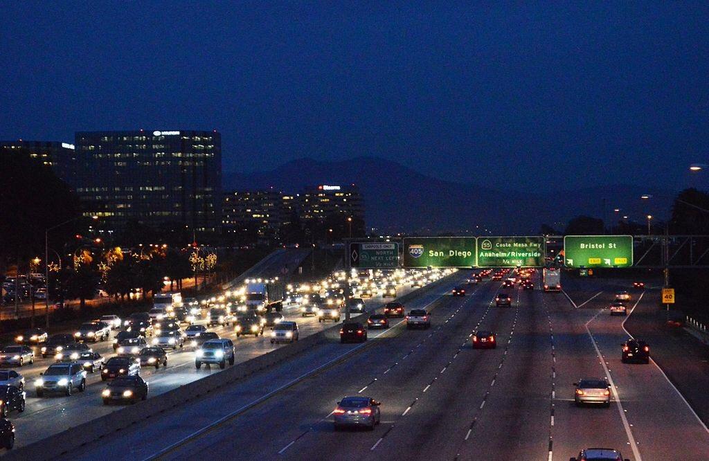 Christopher Hawthorne takes on the 405 freeway (via Wikipedia).