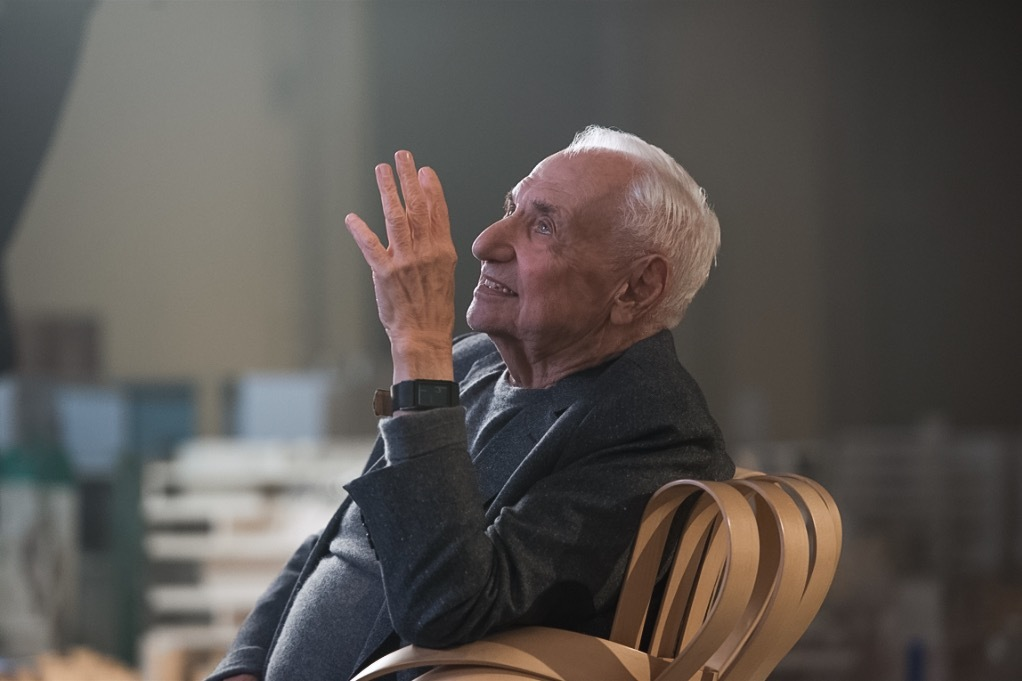 """You'd think I'd know when to quit."" Frank Gehry does his MasterClass thing. Image: MasterClass"