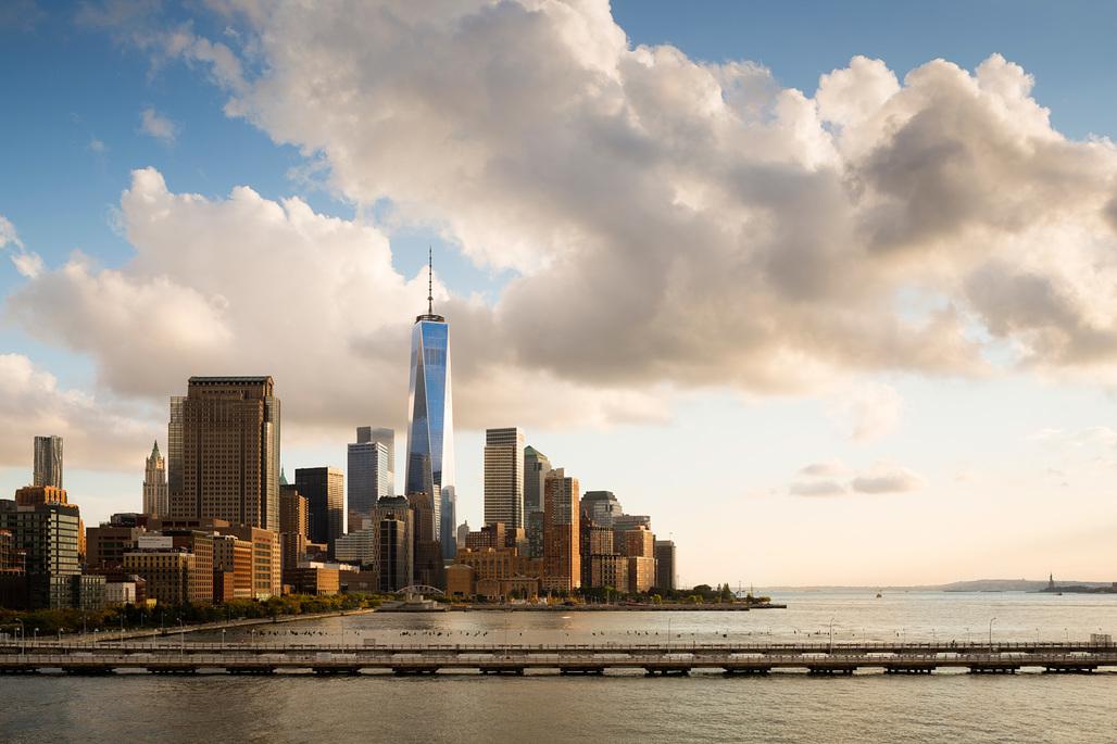 AMERICAS Winner - One World Trade Center. Photo © James Ewing/OTTO