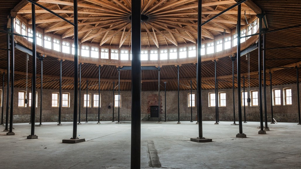 Roundhouse, DuSable Museum of African American History, 2017, Chicago. Photo: Assaf Evron. From the 2017 organizational grant to Palais de Tokyo for