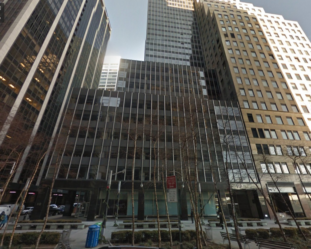 110 Wall Street, upcoming WeLive location.