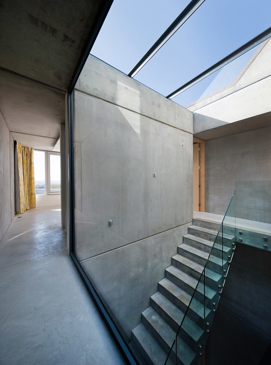 Hill Top House, Oxford (private house) by Adrian James Architects