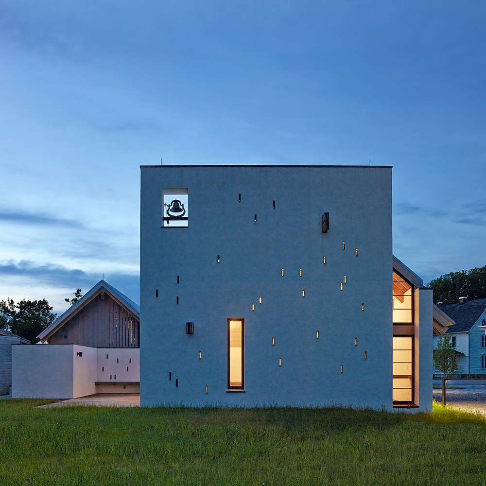 Religious Architecture - New Facilities - Honor: St. Ignatius Chapel at the Georgetown University, Bluemont, Virginia by Dynerman Architects, PC. Photo: Alan Karchmer