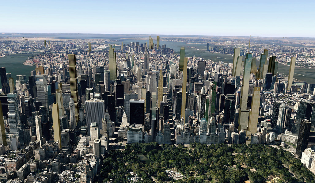 Future NYC Skyline 2018. Image via cityrealty_nyc's Flickr