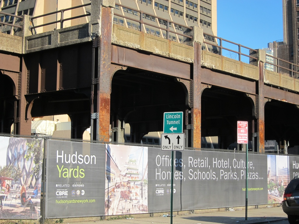 """Hudson Yards in New York City: """"Don't worry, you're gonna just love it!"""" (Photo: Joe Shlabotnik; image via pps.org)"""