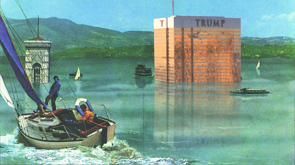 """""""Cleansing the Earth"""" by Aly Perez, from the <a href=""""http://archinect.com/news/article/149972962/good-walls-make-good-neighbors-mr-trump-the-verdict-is-in"""">Good Walls Make Good Neighbors, Mr. Trump competition</a>."""