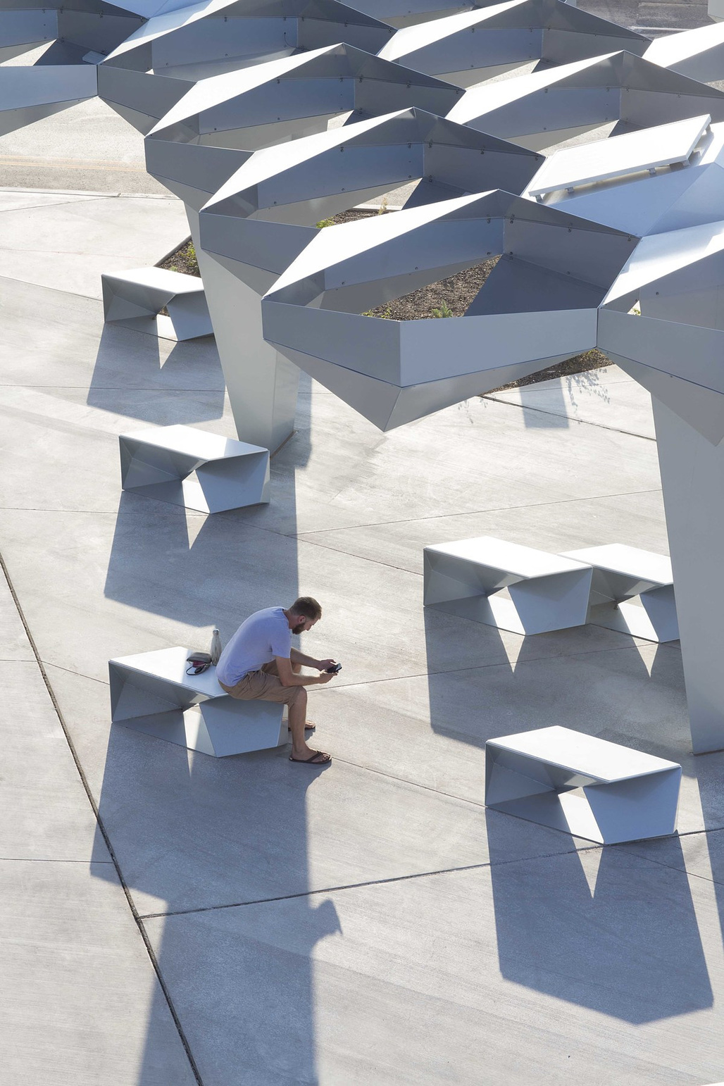 Shadow Play in Phoenix, AZ by Höweler + Yoon; Photo: Matt Winquist
