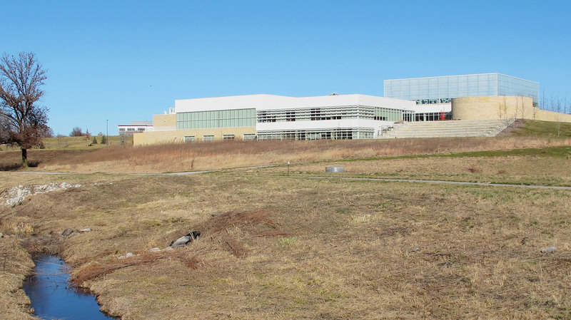 Construction of the Tri-Faith initiative campus is well under way on the outskirts of Omaha, Nebraska. (Photo: Frank Morris/KCUR; image via npr.org)