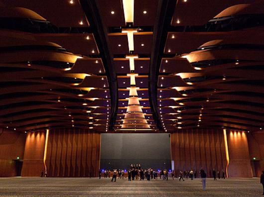 The Grand Ballroom is the largest in the state at 57,500 square feet. It's designed to feel like the inside of an acoustic guitar. - Stephen Jerkins