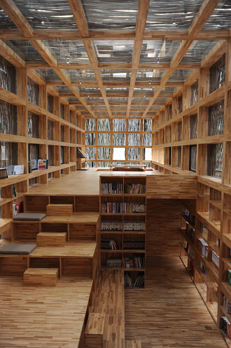 Liyan Library by Li Xiaodong, Tsinghua University, China