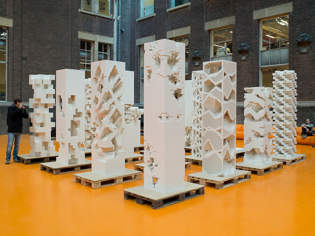 """The exhibition """"Porous City"""" asks the question whether there is a European alternative to the skyscraper typology (Photo: Frans Parthesius)"""