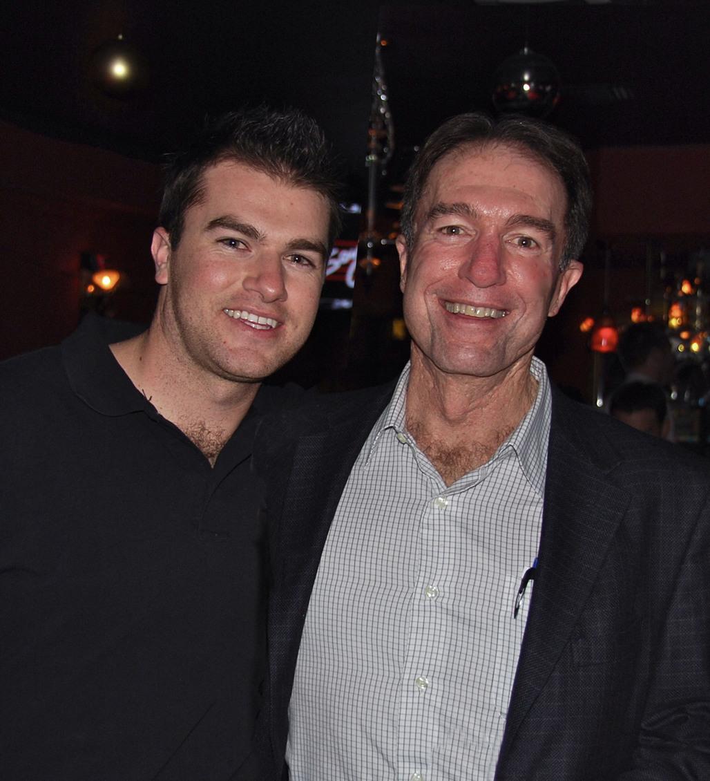 Mark Benjamin (right) and Lucas Benjamin. Courtesy of Morley Builders.
