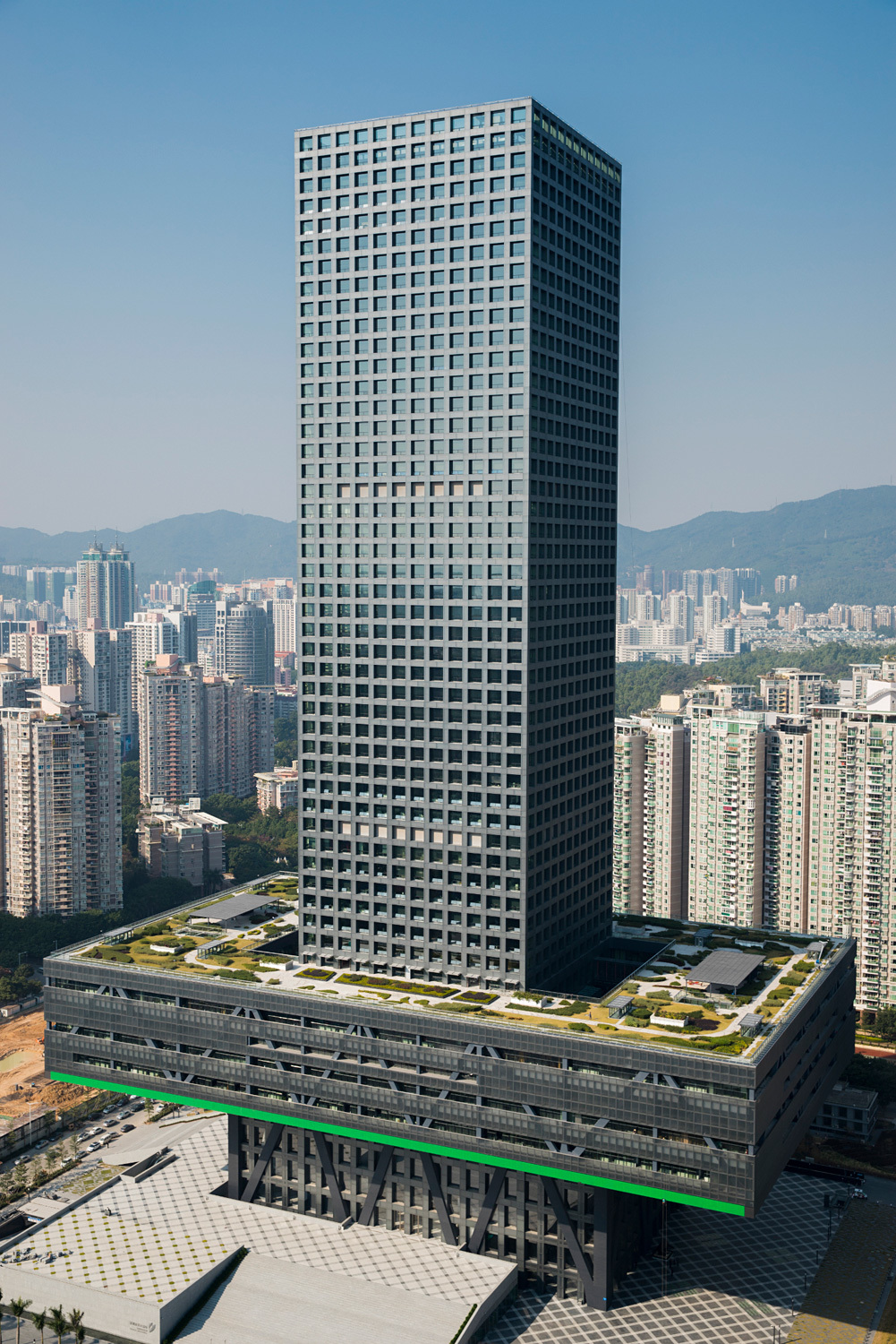 Shenzhen Stock Exchange, Shenzhen, China. Structural Designer: Arup. Photo: Marcel Lam Photography
