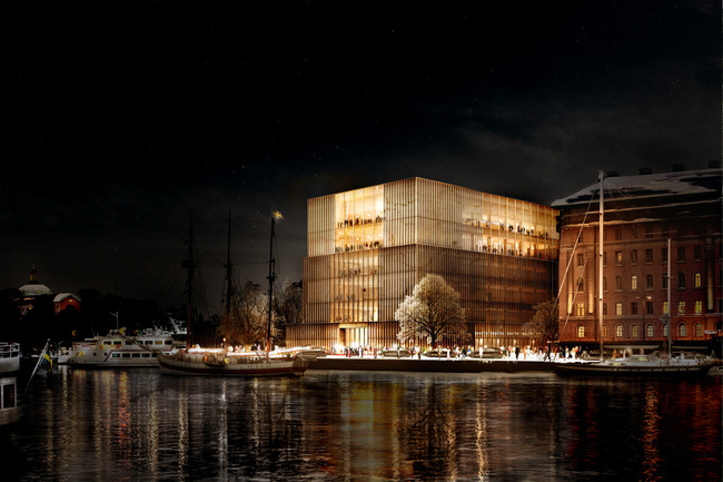 David Chipperfield's proposal won the Nobel Center design competition in 2014. Image © David Chipperfield Architects.