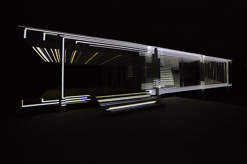 INsite Study No.3 on Mies van der Rohe's Farnsworth House. Photo by Kate Joyce.