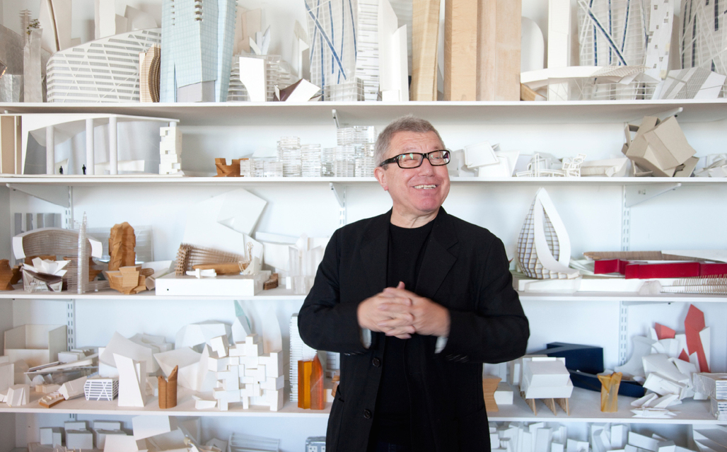 In the context of a recent exhibition, Daniel Libeskind talked with architectural historian Gillian Darley on issues of memory and trauma in regards to architecture. Credit: Studio Libeskind