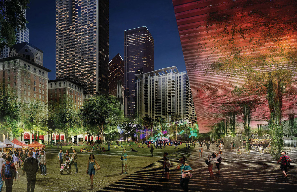 From Agence Ter and Team's Pershing Square Renew proposal. Image: Agence Ter and Team.