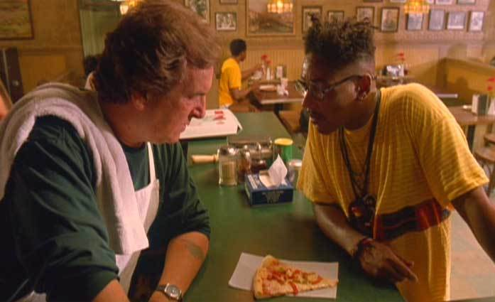 """Scene from Spike Lee's """"Do the Right Thing"""". Image via sites.psu.edu."""