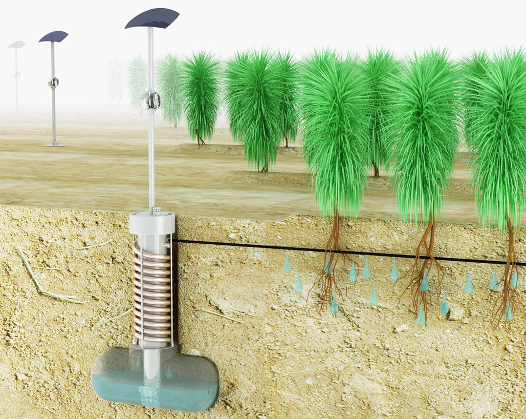 Detail from AirDrop Irrigation