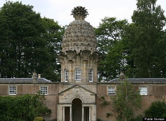 The Dunmore Pineapple, built in 1761, is said to