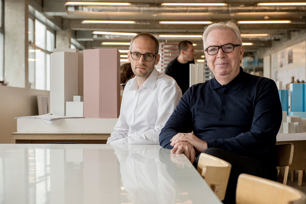 Architecture protégé Simon Kretz and David Chipperfield will collaborate for the 2016-17 Rolex Arts Initiative. Photo courtesy of Rolex Arts Initiative.